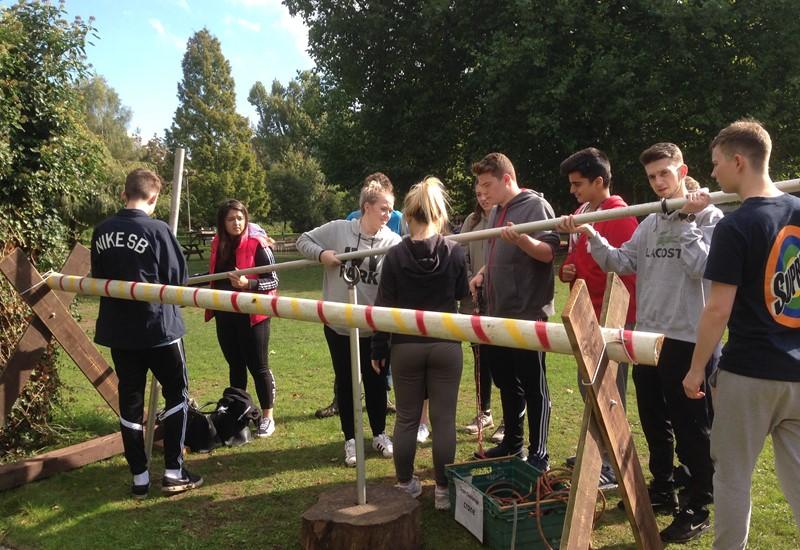 Teambuilding Event At Longridge Activity Centre The Henley College